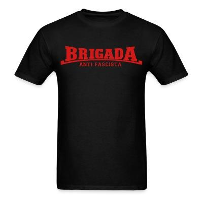 T-shirt Brigada anti fascista