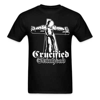 Crucified skinhead