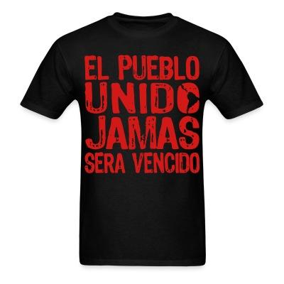 El pueblo unido jamas sera vencido Politics - Anarchism - Anti-capitalism - Libertarian - Communism - Revolution - Anarchy - Anti-government - Anti-state