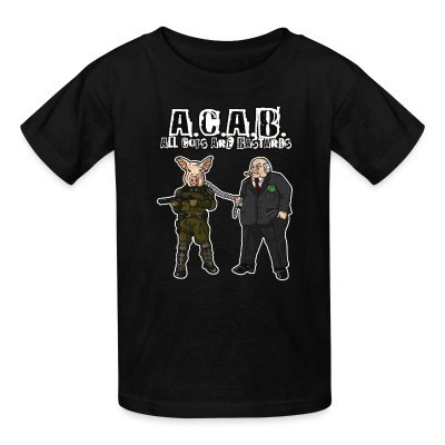 T-shirt enfant A.C.A.B All Cops Are Bastards