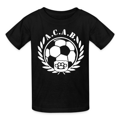 T-shirt enfant A.C.A.B. Football
