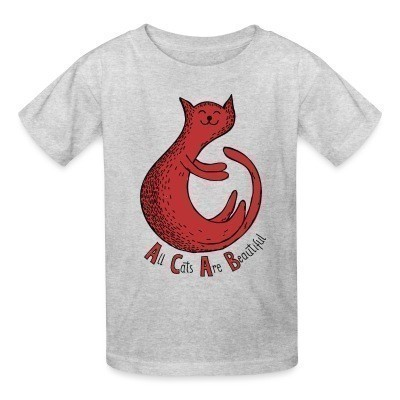 T-shirt enfant ACAB - all cats are beautiful