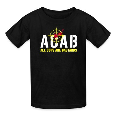 T-shirt enfant ACAB All Cops Are Bastards