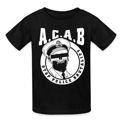 Acab / Stop police brutality