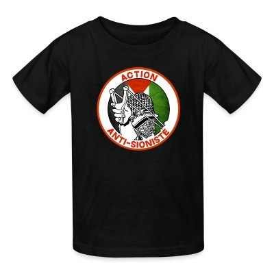 T-shirt enfant Action anti-sioniste