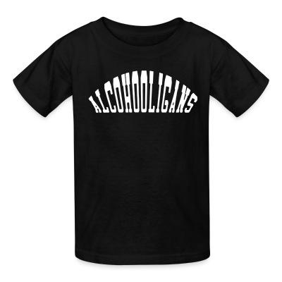 T-shirt enfant Alcohooligans