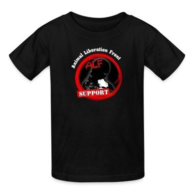 T-shirt enfant ALF Animal Liberation Front support