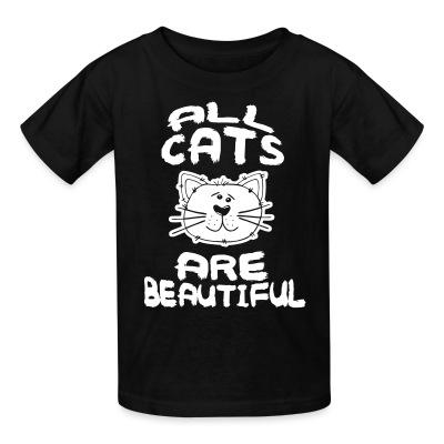 T-shirt enfant All cats are beautiful
