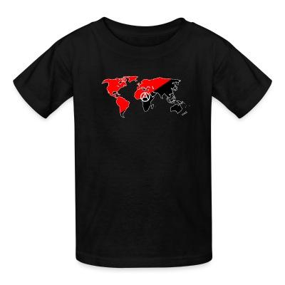 T-shirt enfant Anarchism & internationalism