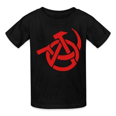 T-shirt enfant Anarcho-Communism