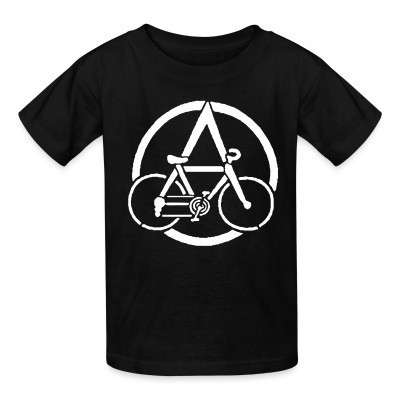 T-shirt enfant Anarcho-Cyclism