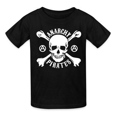T-shirt enfant Anarchy pirates