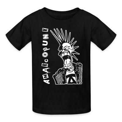 T-shirt enfant Anarcopunk
