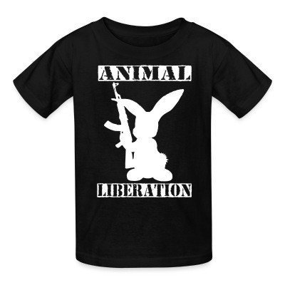 T-shirt enfant Animal liberation