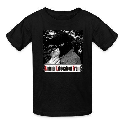 T-shirt enfant Animal Liberation Front