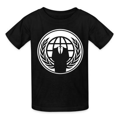 T-shirt enfant Anonymous