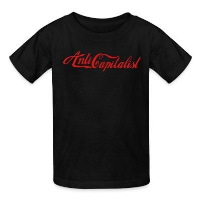 T-shirt enfant Anti capitalist