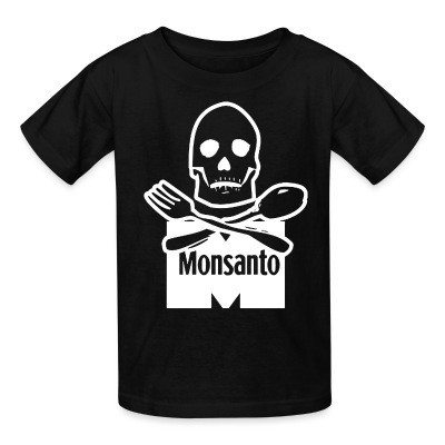 T-shirt enfant Anti-Monsanto