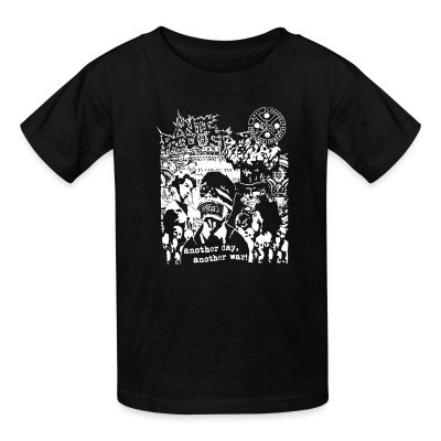T-shirt enfant Anti-Product - Another day, another war!