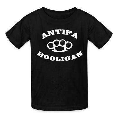 Antifa hooligan