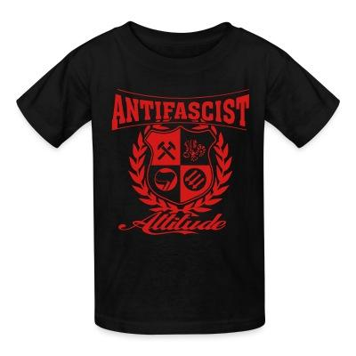 T-shirt enfant Antifascist attitude