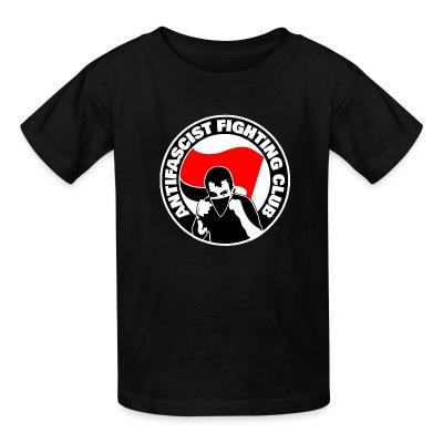 T-shirt enfant Antifascist fighting club