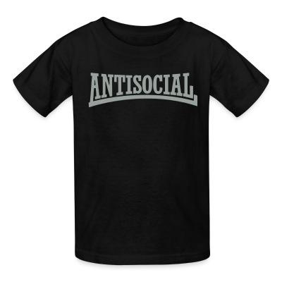 T-shirt enfant Antisocial