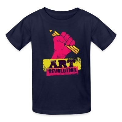 T-shirt enfant Art revolution