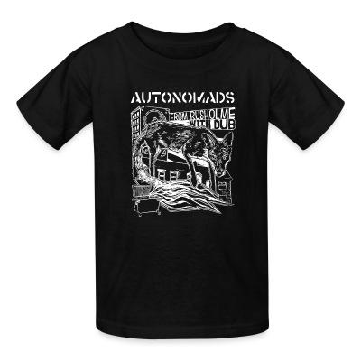 T-shirt enfant Autonomads - from rusholme with dub