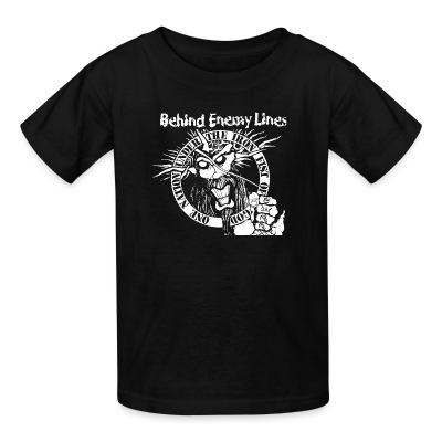 T-shirt enfant Behind Enemy Lines - One nation under the iron fist of god