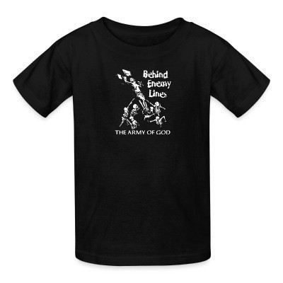 T-shirt enfant Behind Enemy Lines - the army of god