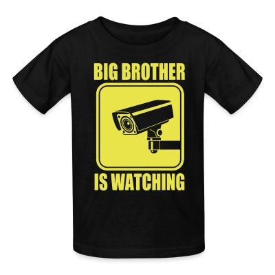 T-shirt enfant Big brother is watching