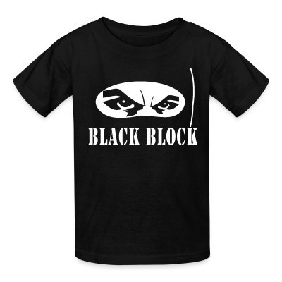T-shirt enfant Black block