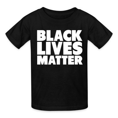 T-shirt enfant Black lives matter