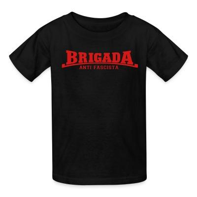T-shirt enfant Brigada anti fascista