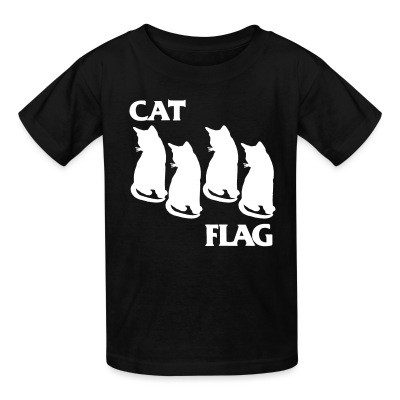 T-shirt enfant Cat Flag