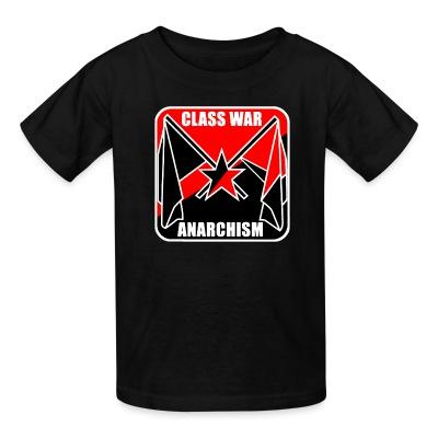 T-shirt enfant Class war anarchism