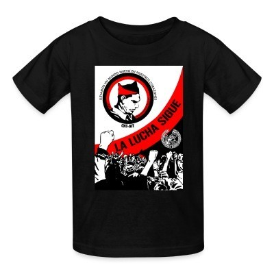 T-shirt enfant CNT-AIT la lucha sigue