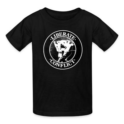 T-shirt enfant Conflict - Liberate