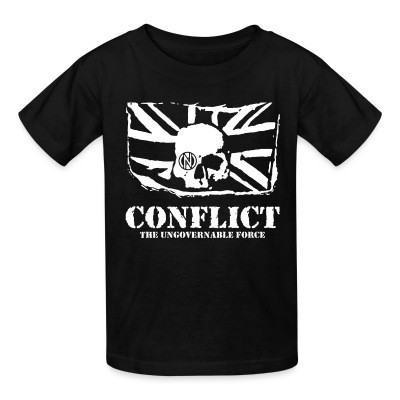 T-shirt enfant Conflict - The ungovernable force