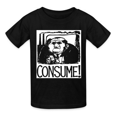 T-shirt enfant Consume!