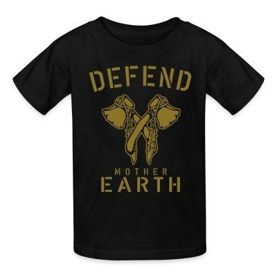 Defend mother earth