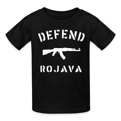 T-shirt enfant Defend Rojava
