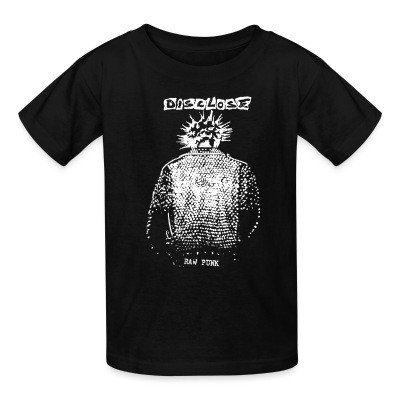 T-shirt enfant Disclose - raw punk