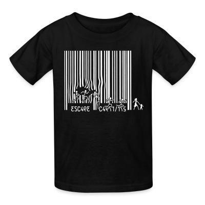 T-shirt enfant Escape Capitalism