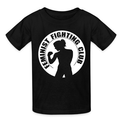 T-shirt enfant Feminist fighting club