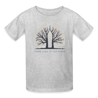 T-shirt enfant Forests are the lungs of earth