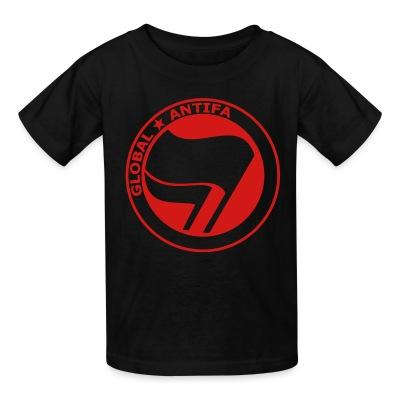 T-shirt enfant Global antifa