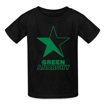 T-shirt enfant Green anarchy