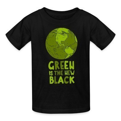 T-shirt enfant Green is the new black